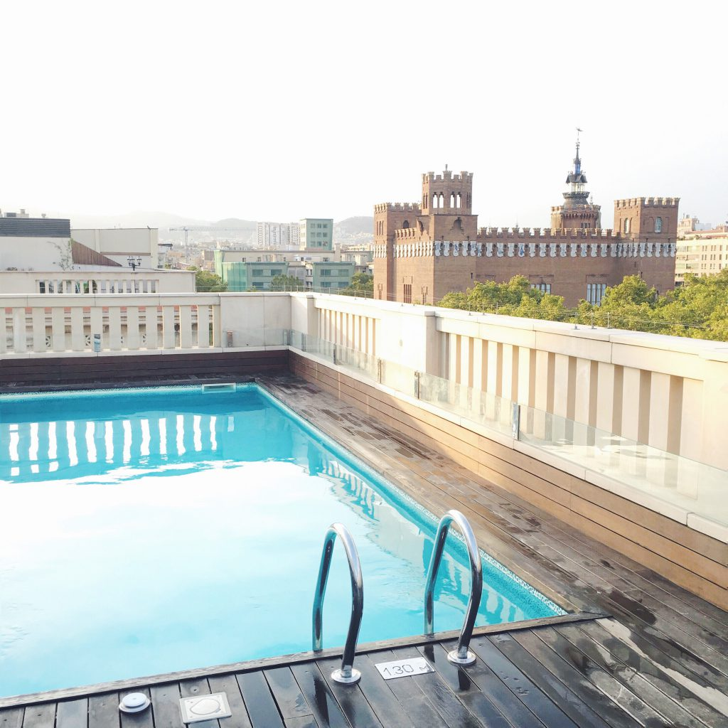 K+K Hotel Picasso Barcelona Rooftop Pool