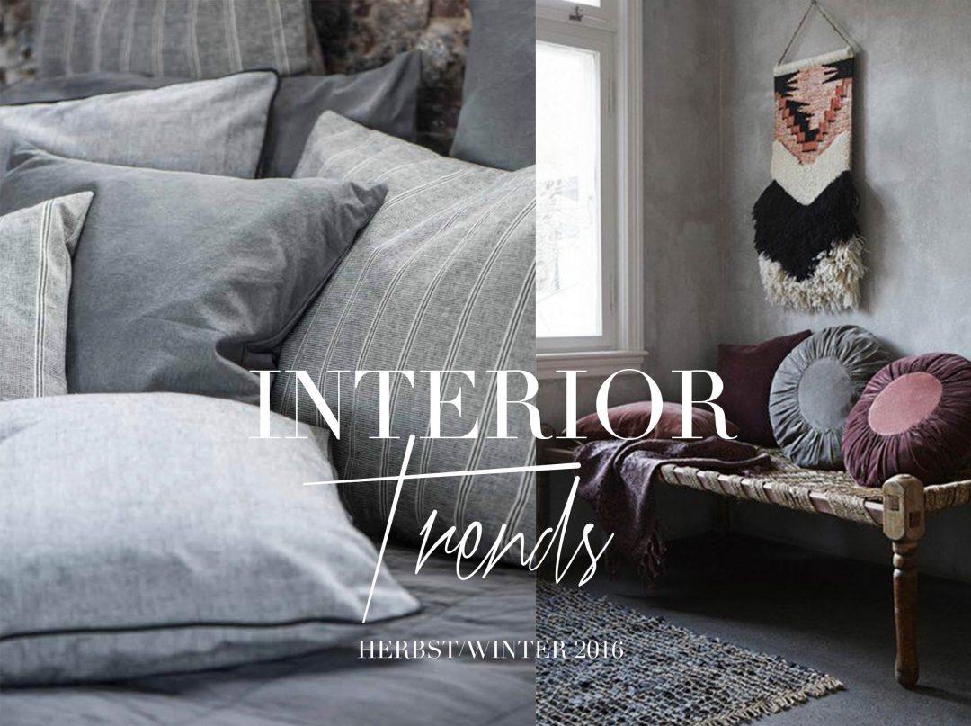INTERIOR TRENDS IM HERBST/WINTER 2016 - traumzuhause