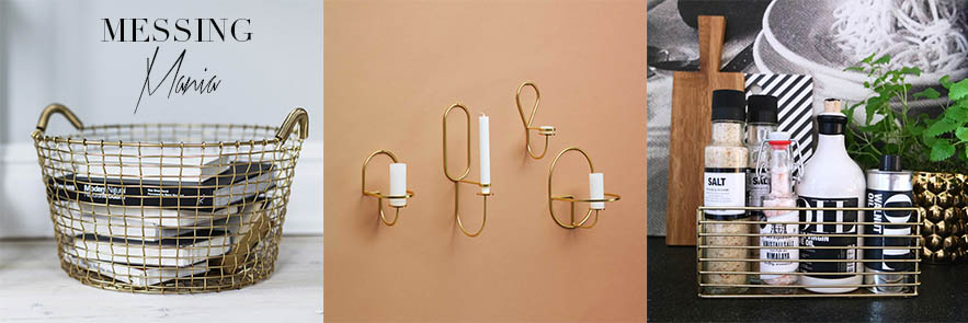 Interior Trend Messing Brass