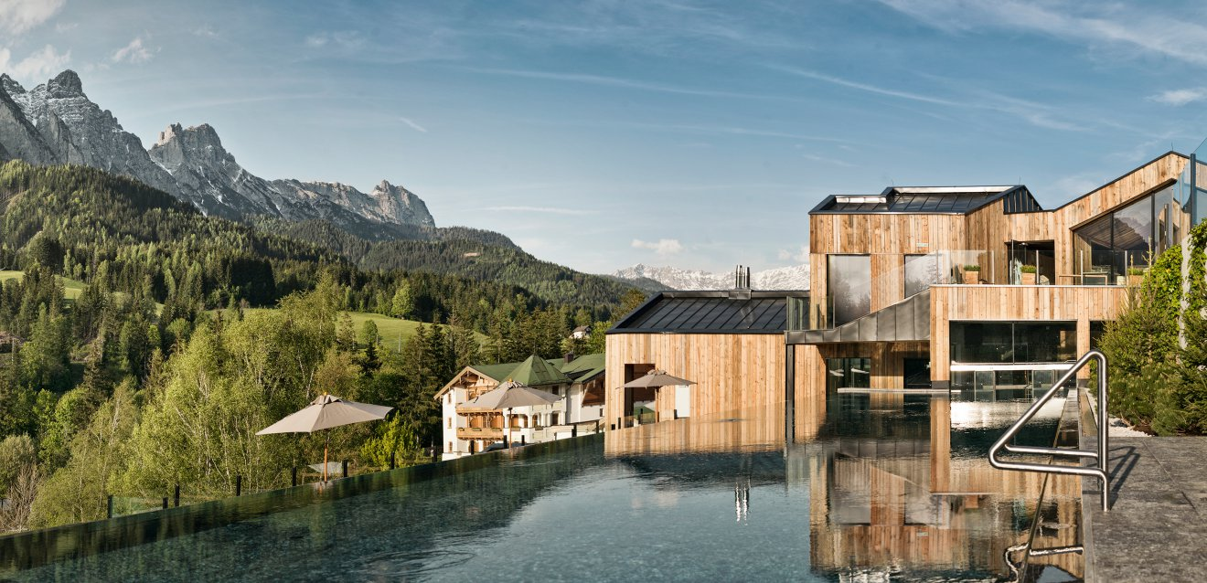 Bucket list die sch nsten wellness designhotels for Design hotel leogang