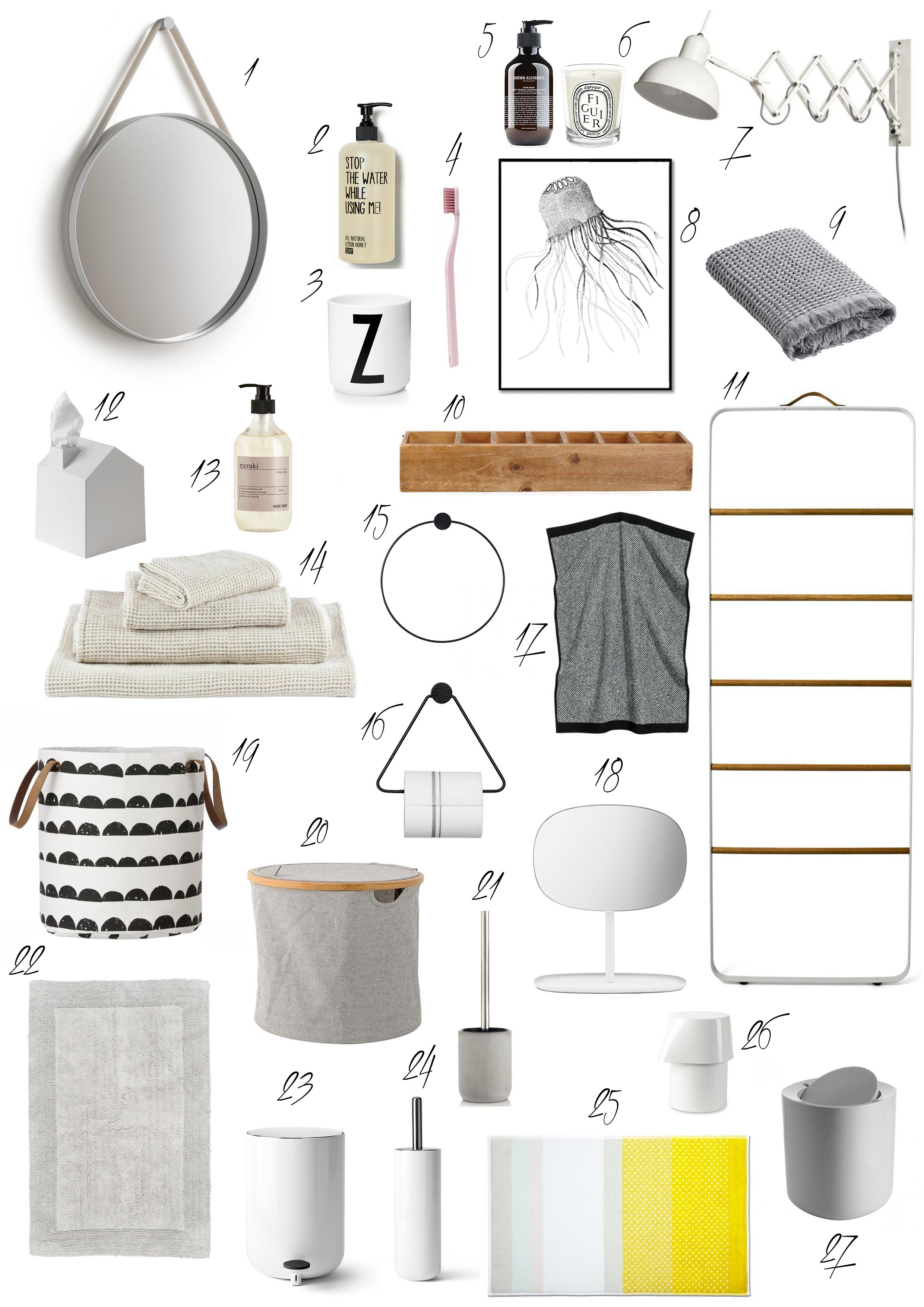 die sch nsten badaccessoires traumzuhause. Black Bedroom Furniture Sets. Home Design Ideas