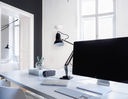 Scandinavian workspace inspo