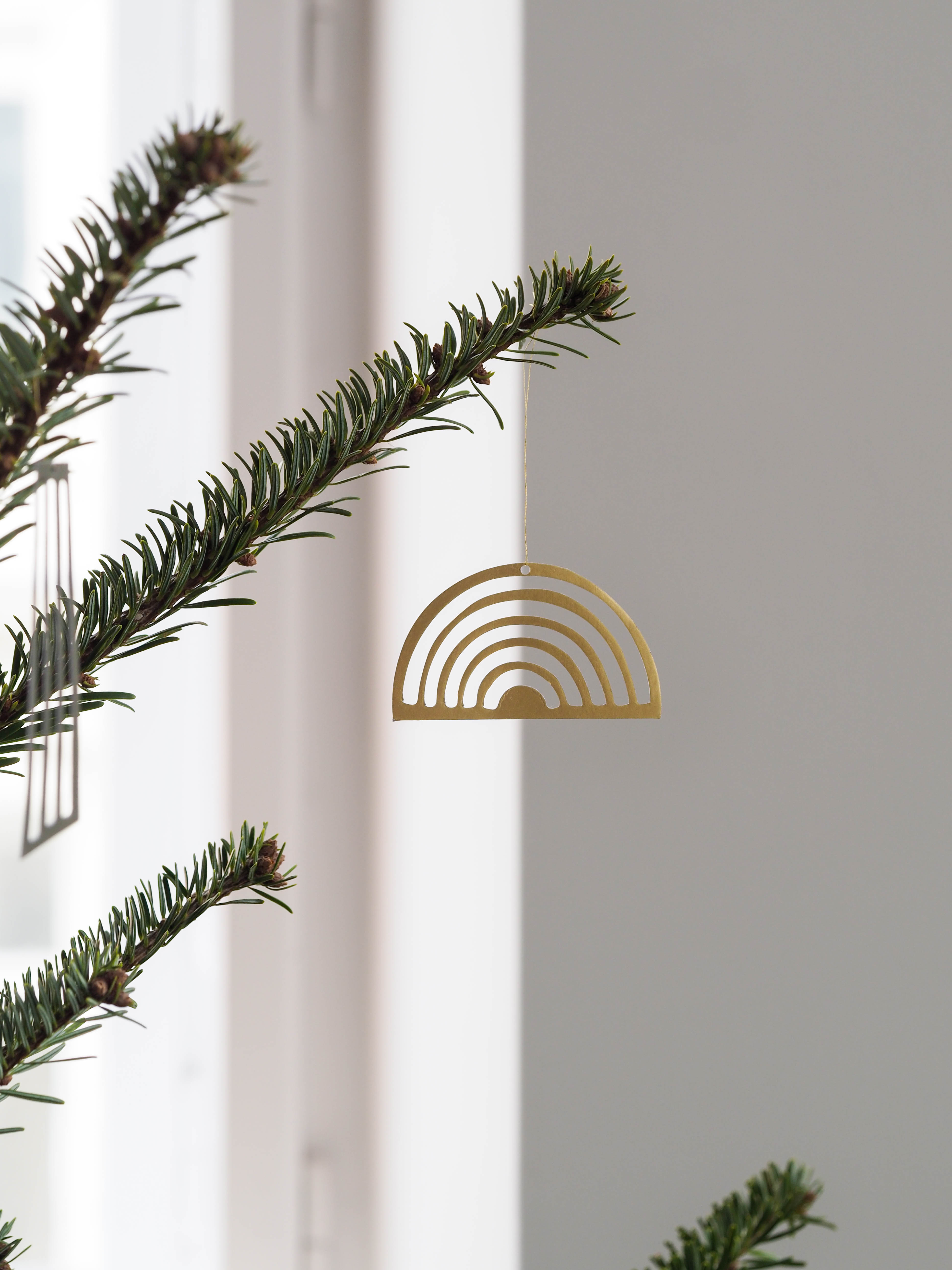 Weihnachtsbaumschmuck Messing Skandi Ferm Living
