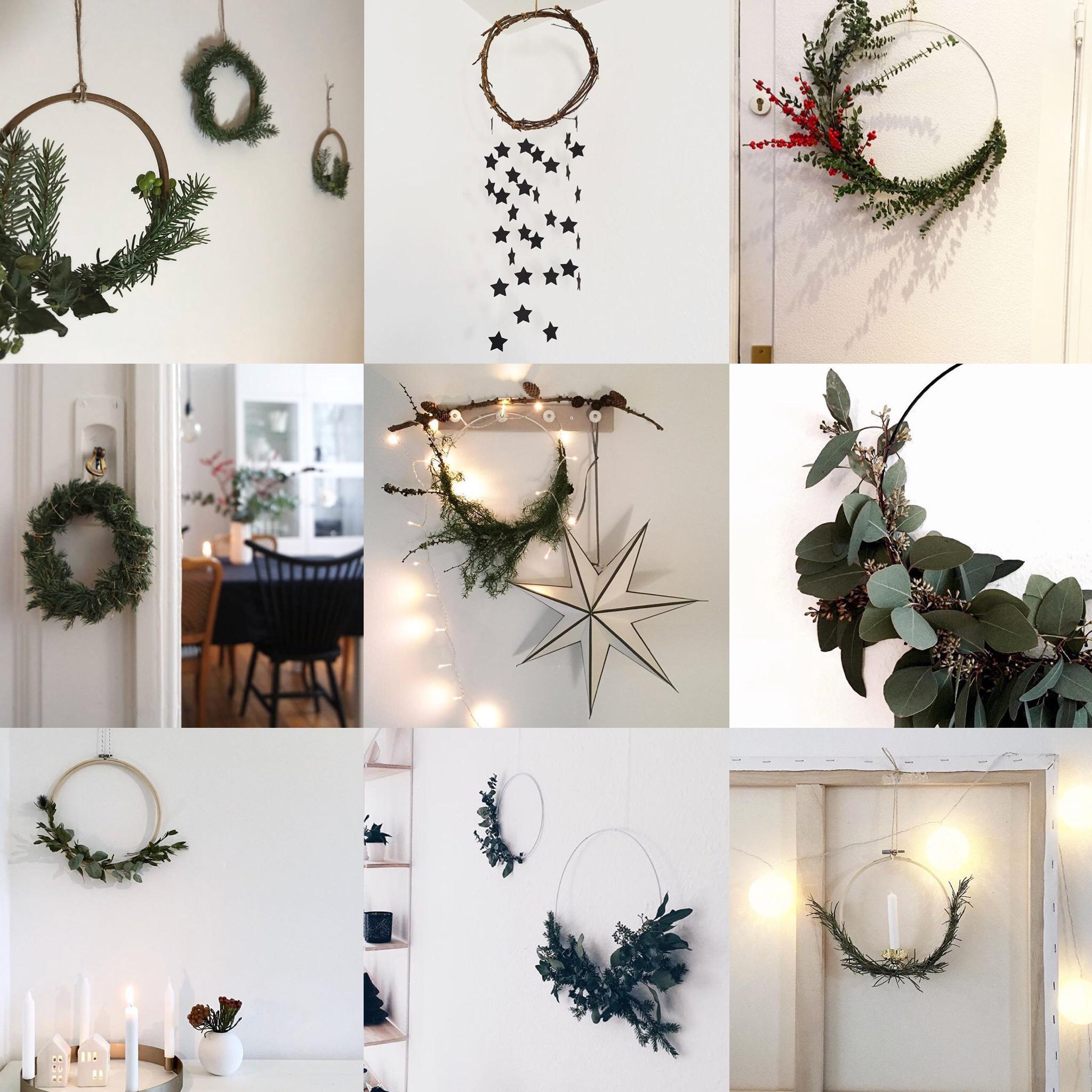 Traumzuhause Weihnachtskränze Eukalyptuskranz