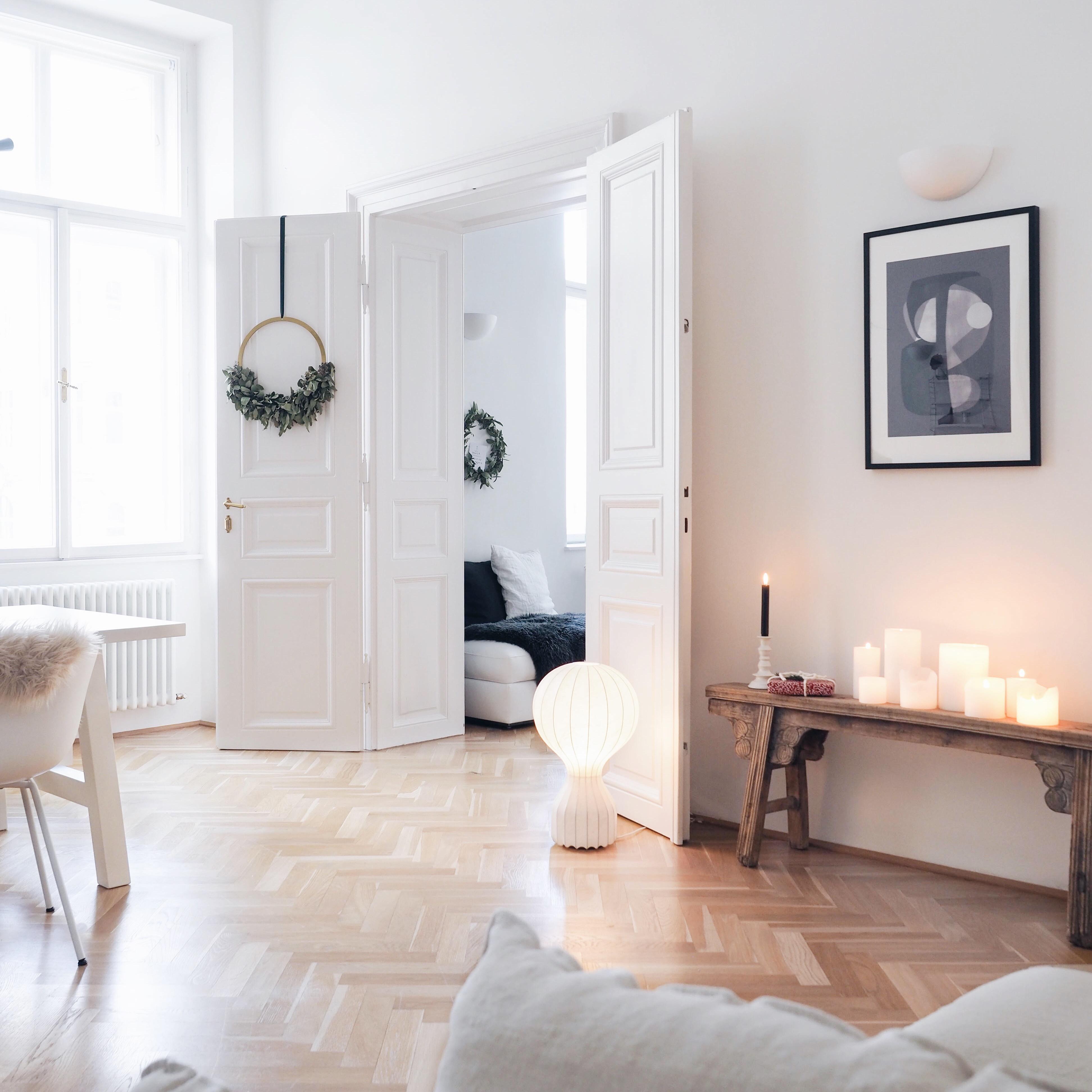 Skandinavische Weihnachtsdeko Cooee Altbauwohnung