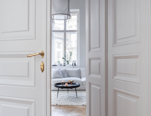 Traumzuhause Scandinavian Interior Wohnblock Altbau