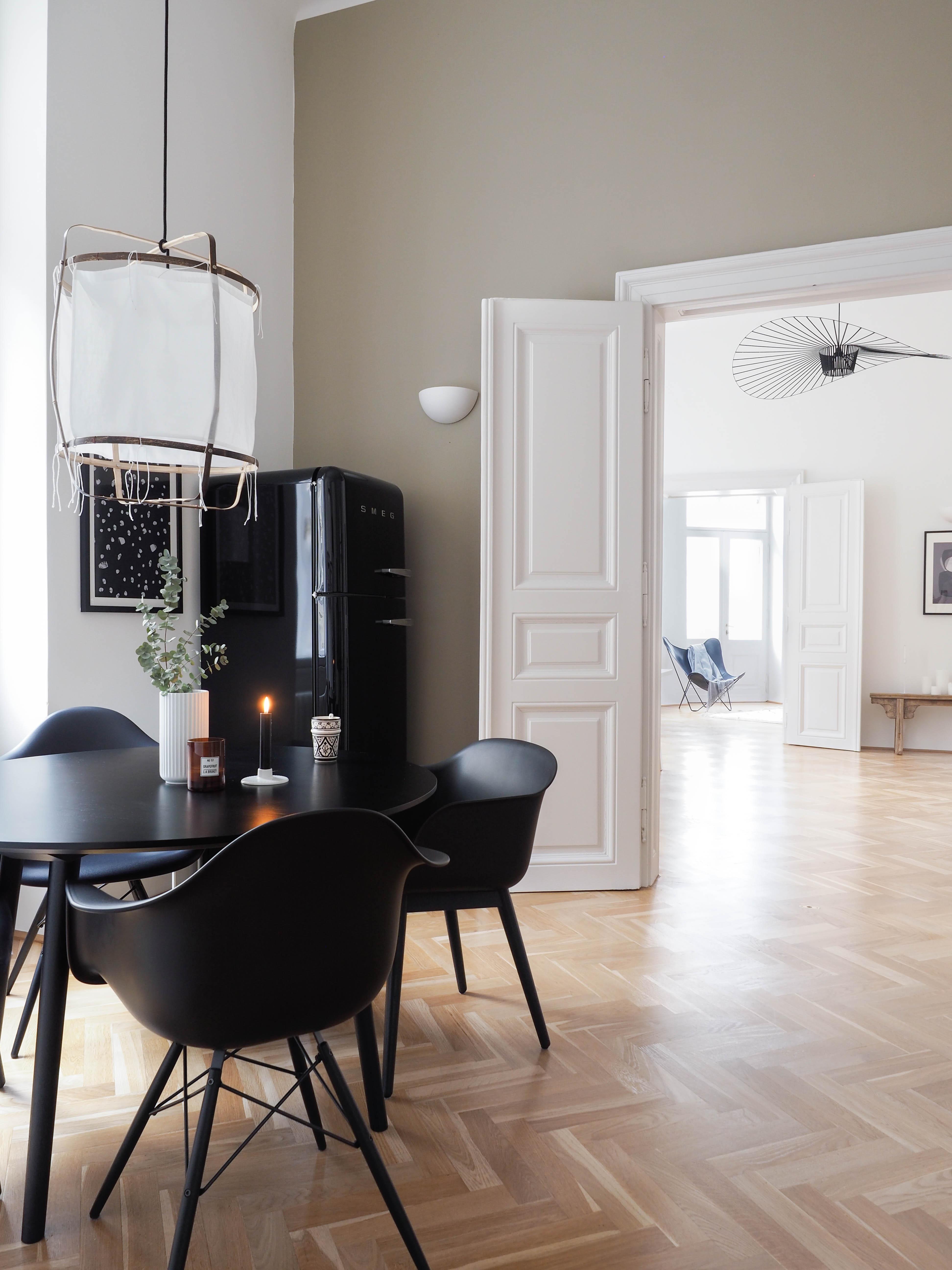 Skandinavische Wohnküche