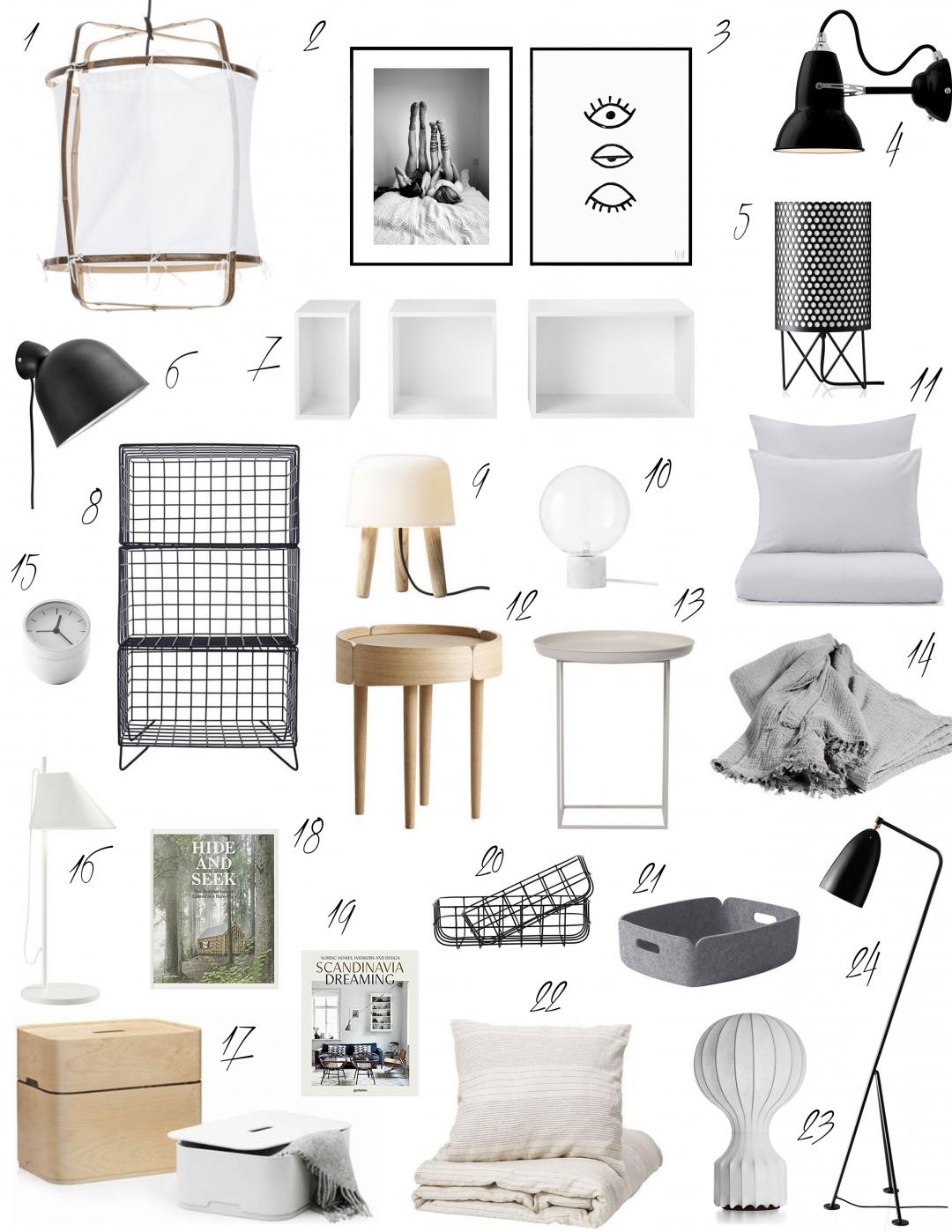 Schlafzimmer Ideen / Scandinavian Bedroom