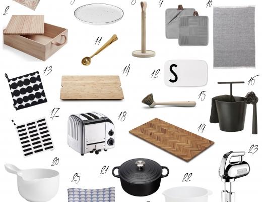Die schönsten Küchenaccessoires Skandinavische Küchenaccessoires
