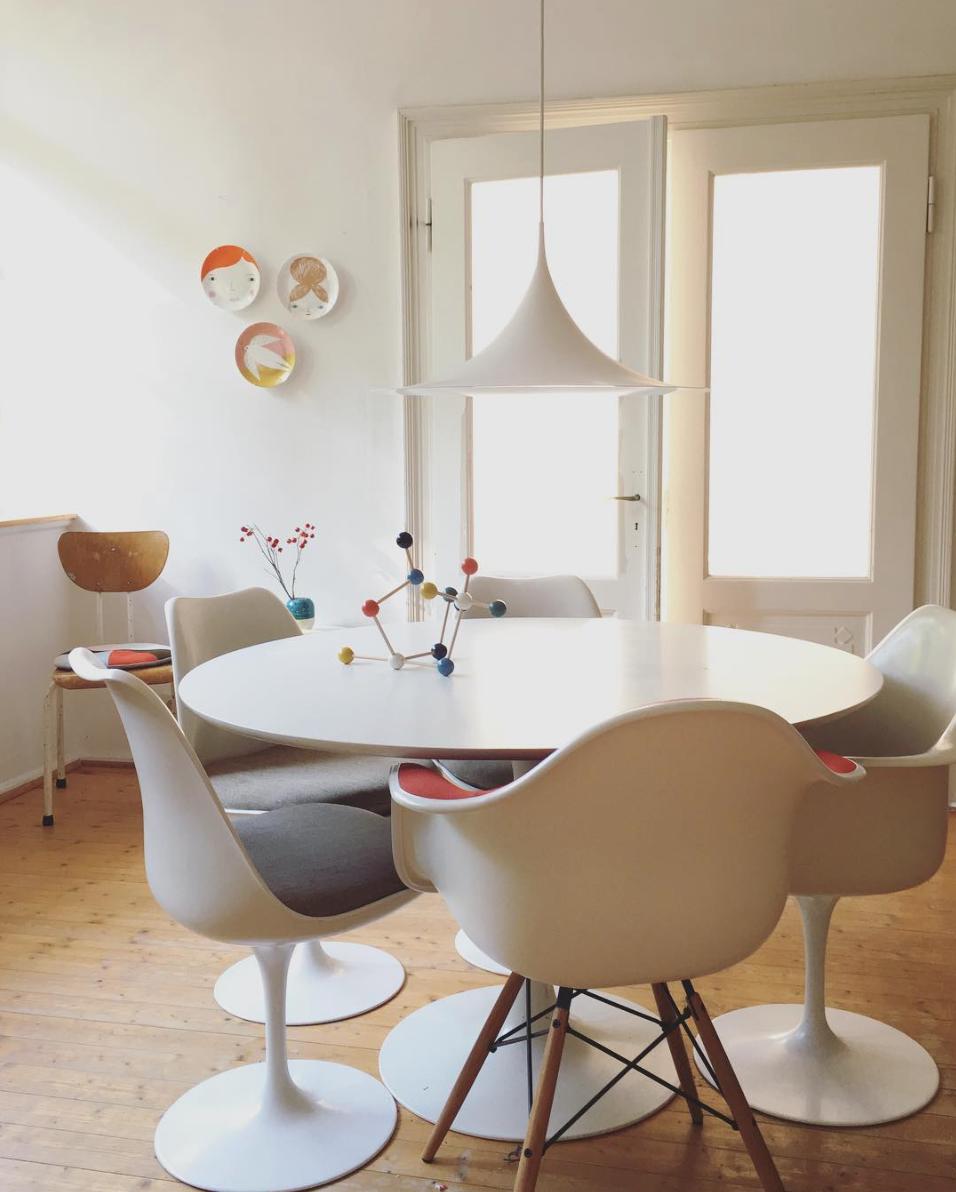 Instaliebling Donnerstagssonntag Interview Traumzuhause Saarinen Tulip Table