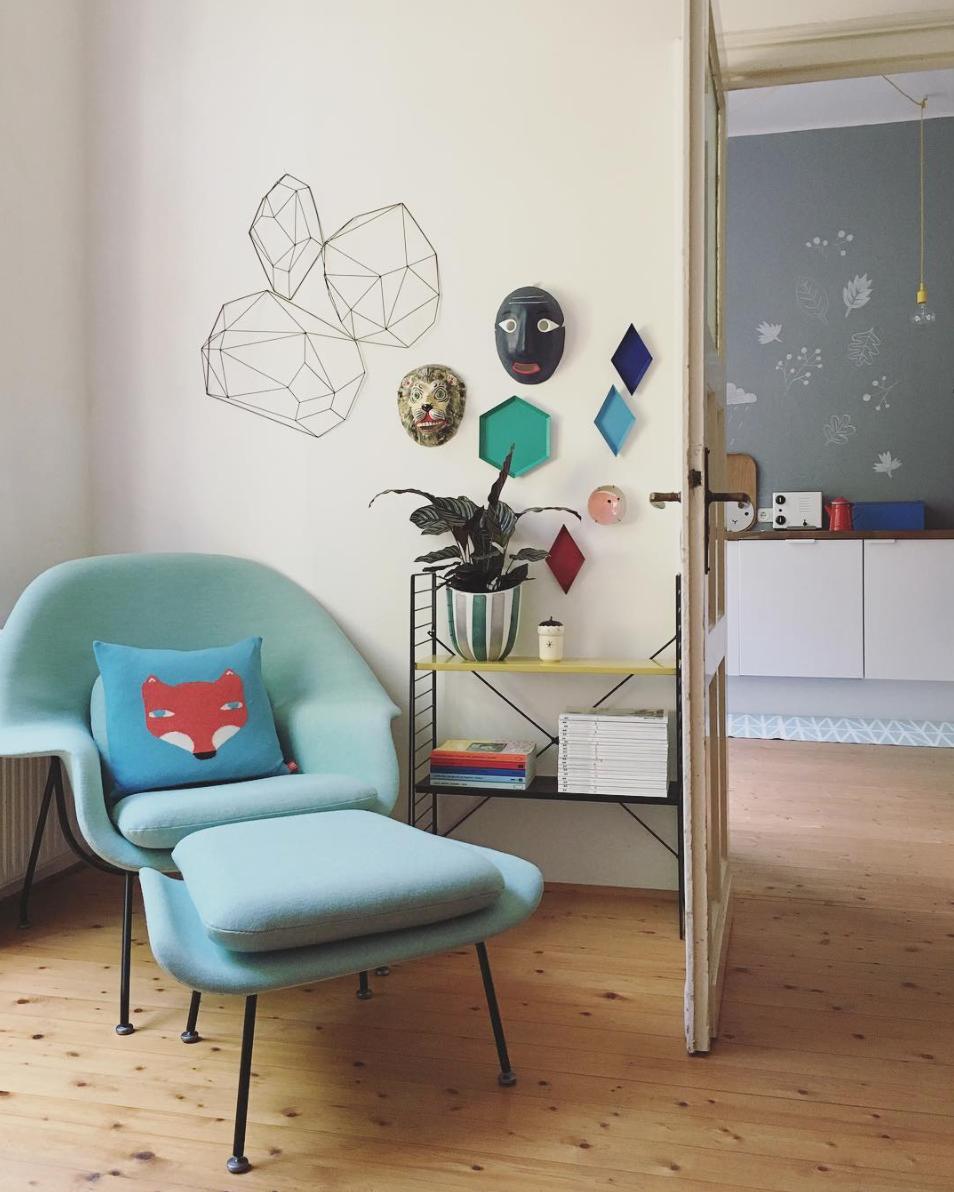 Instaliebling Donnerstagssonntag Interview Traumzuhause Saarinen Womb Chair
