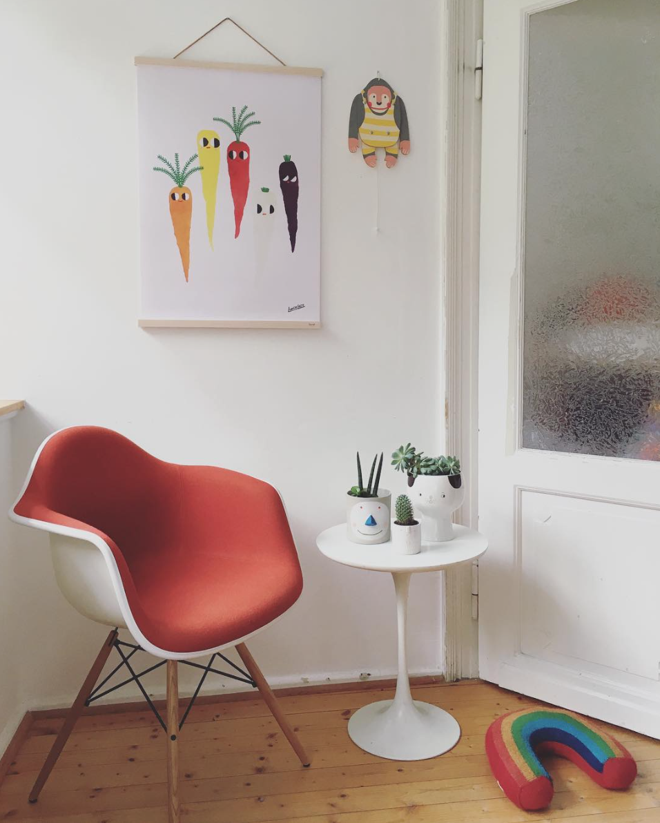 Instaliebling Donnerstagssonntag Interview Traumzuhause Retro Eames Chair