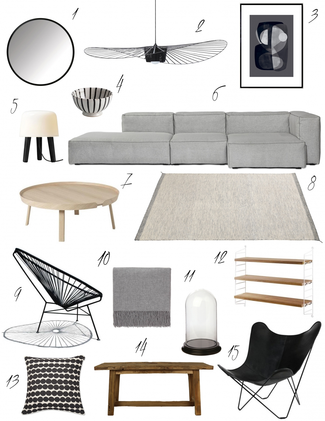 Livingroom Inspiration Wohnzimmer Inspiration Skandi Look