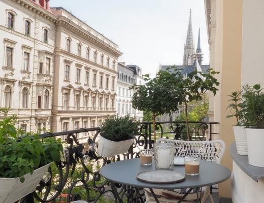 Balkon Wien Stadtbalkon Ideen