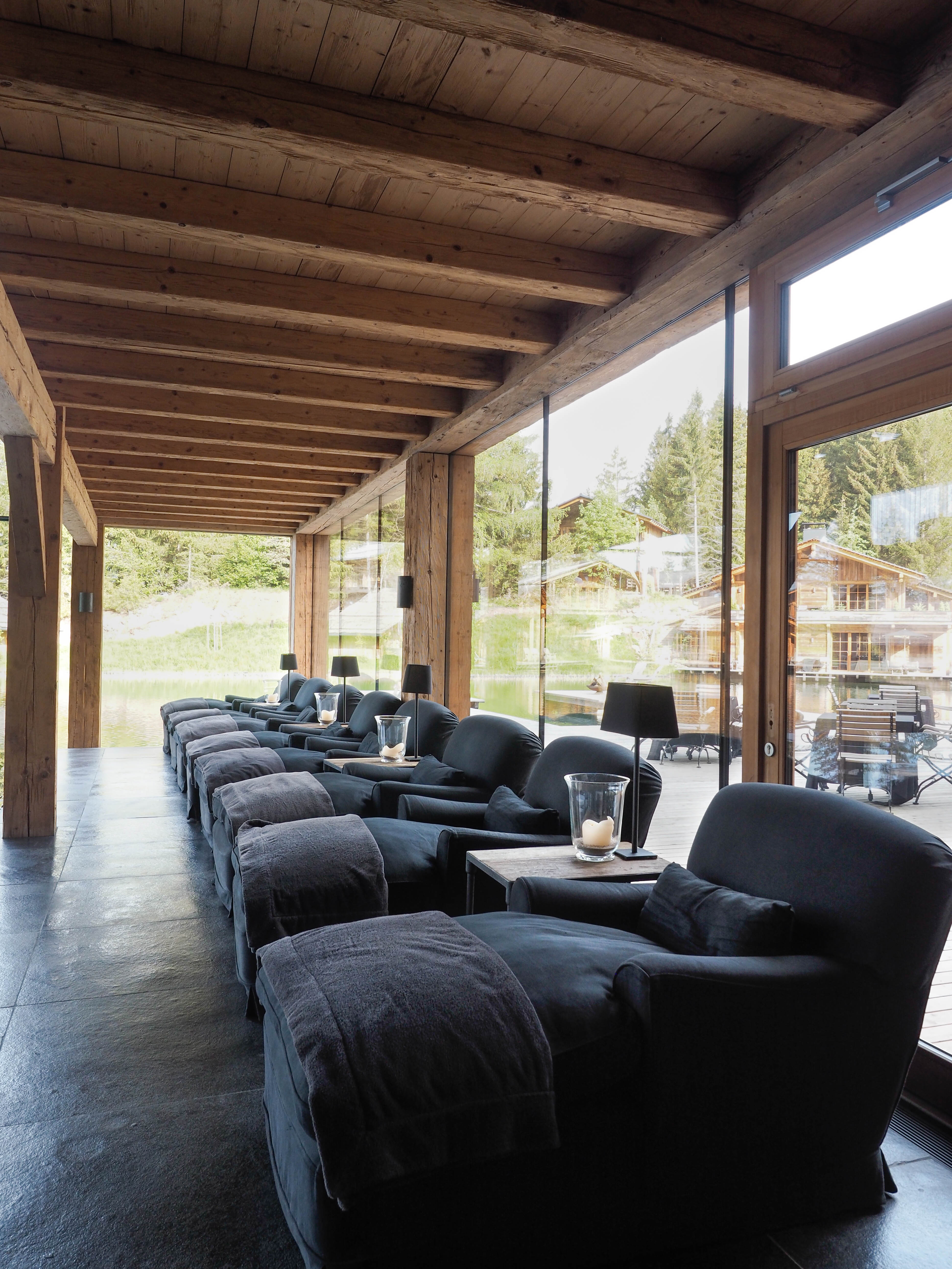 San Luis Lodges Meran Südtirol Urlaub in den Bergen Luxus Hideaway