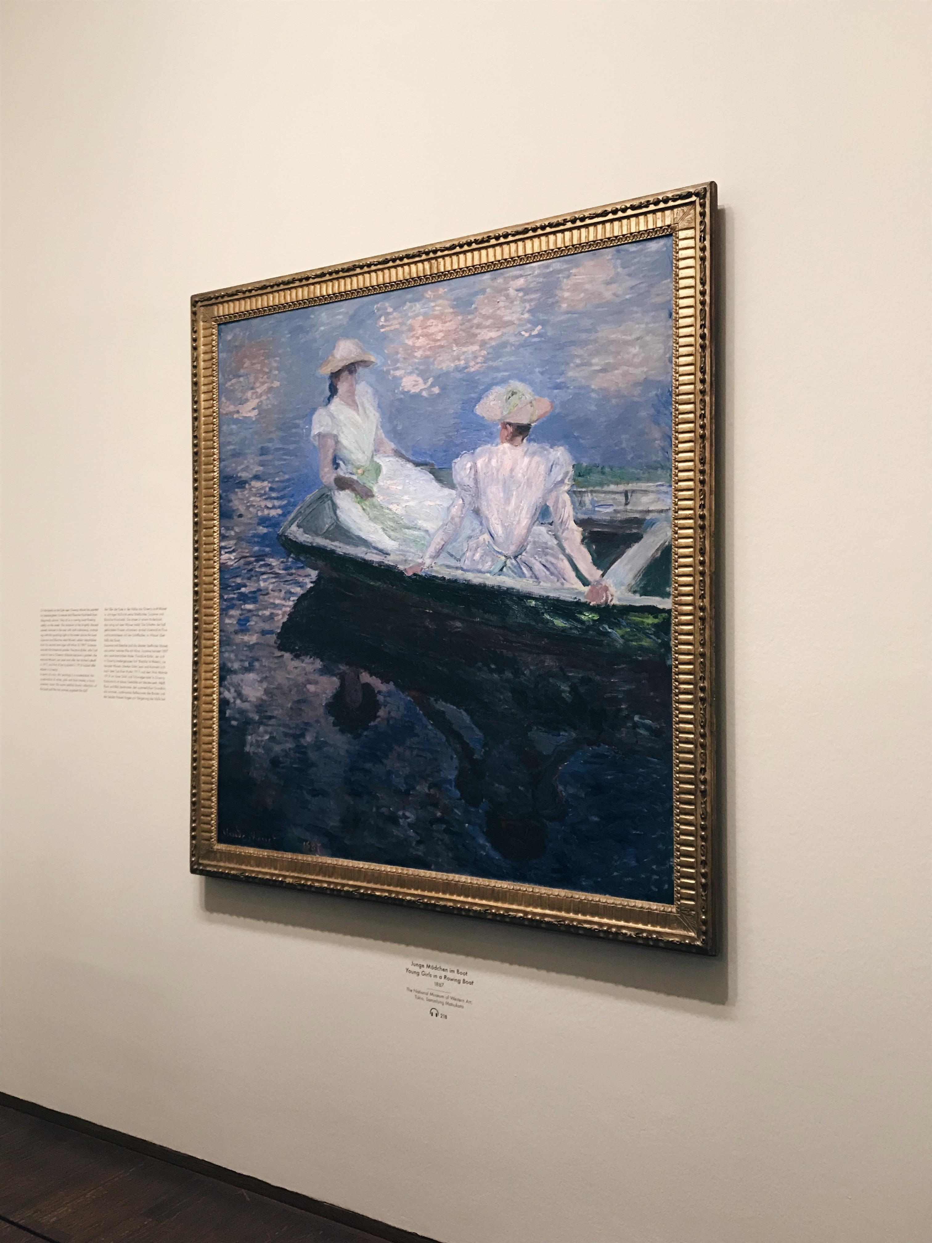 Claude Monet Ausstellung Albertina