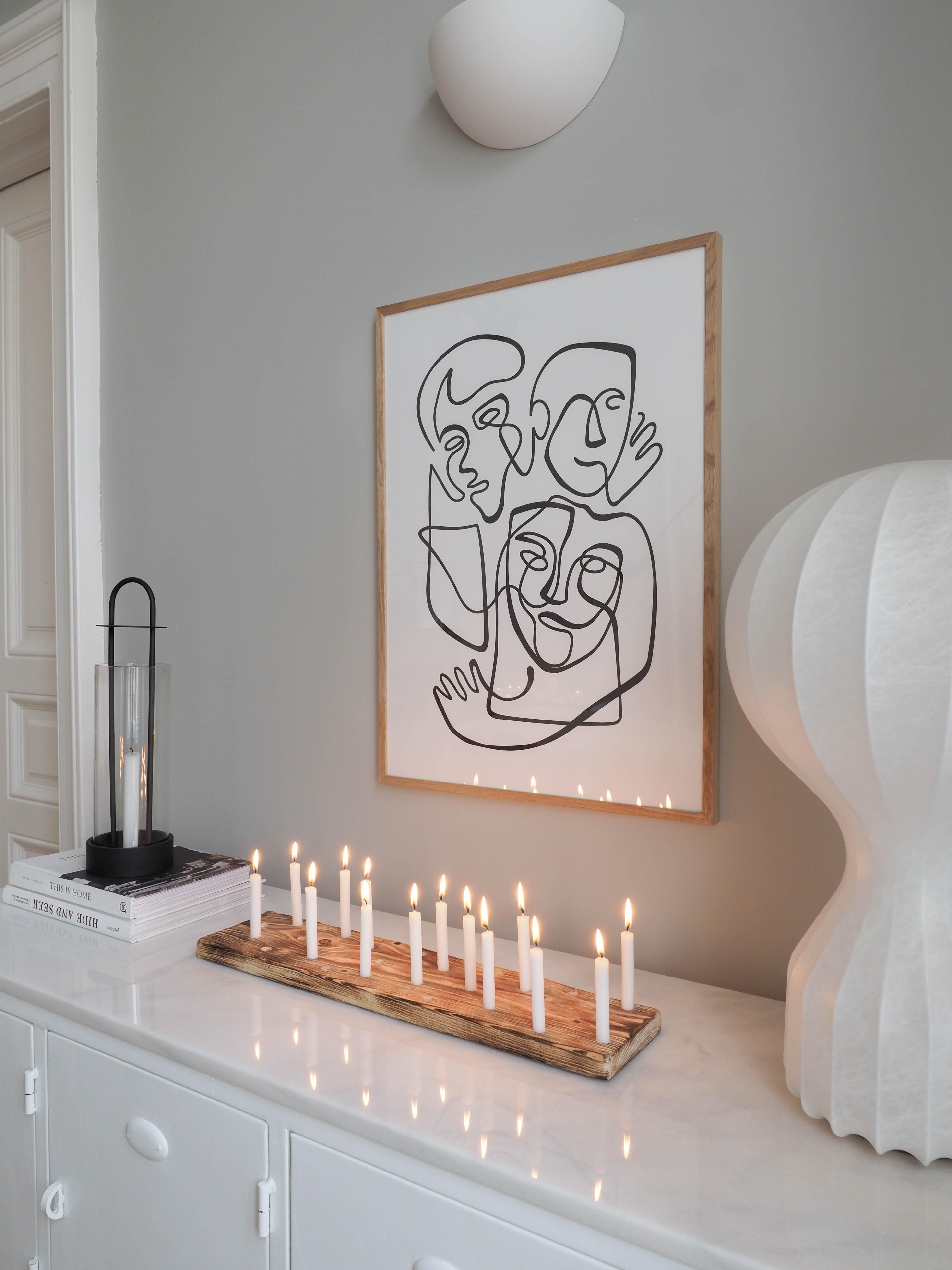 Kerzenbrett Traumzuhause