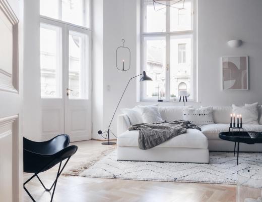 Wohnzimmer Altbau Wien